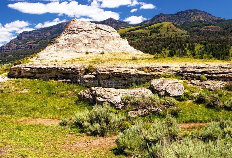 Sodabutte Yellowstone N P royalty-vrije stock fotografie