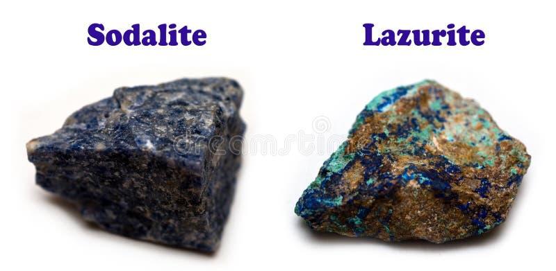 Sodalite Minerals Stock Image