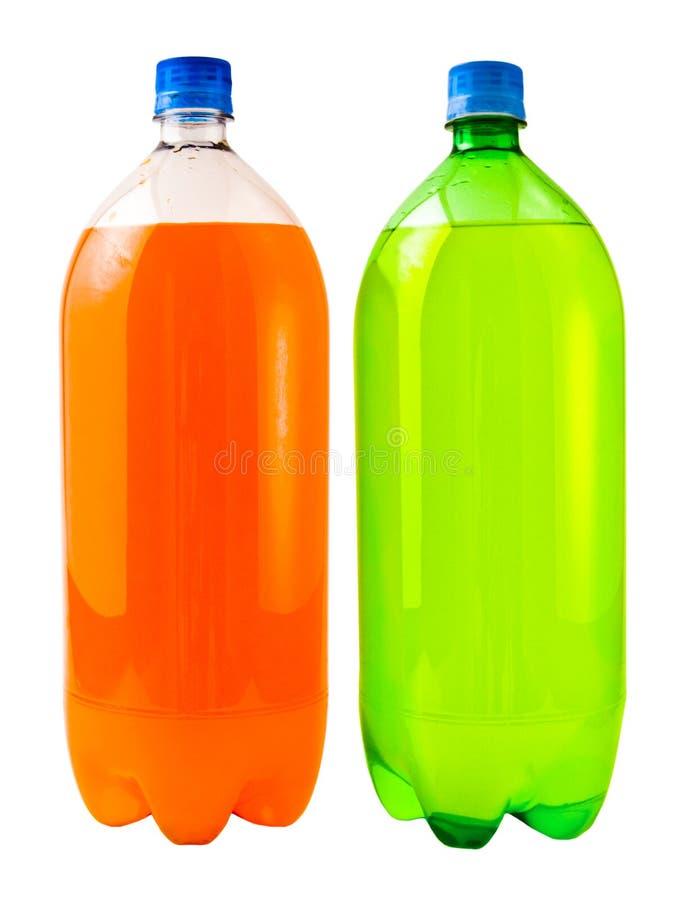 sodavatten för citronlimefruktorange fotografering för bildbyråer