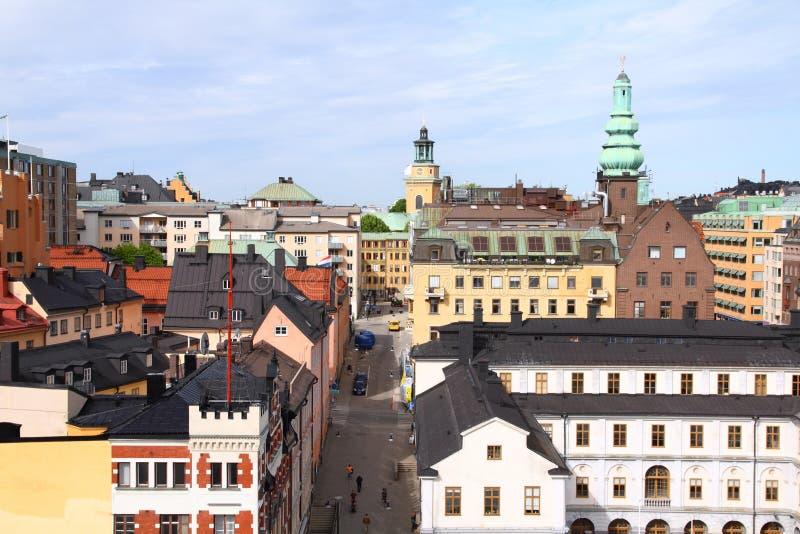 Sodermalm, Stockholm royalty-vrije stock foto
