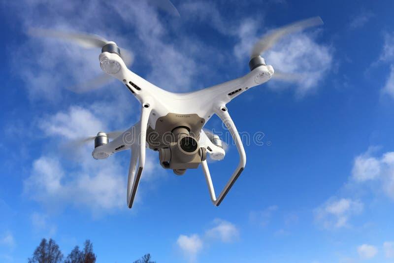 DJI Phantom 4 pro drone royalty free stock images