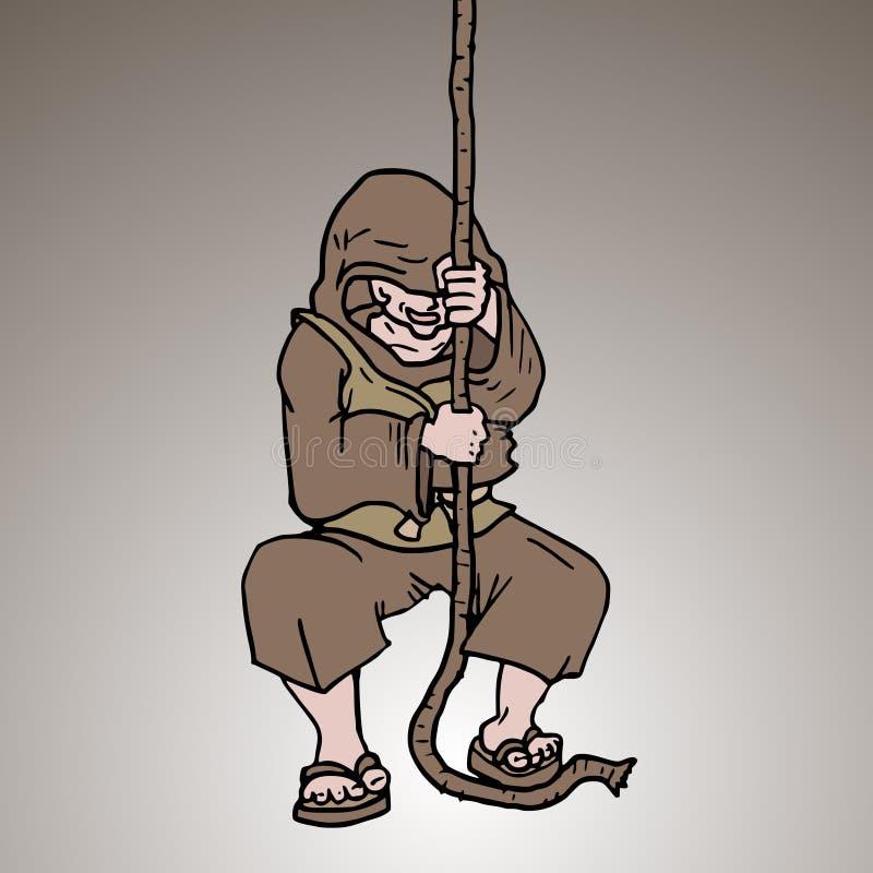 Soe o sino ilustração royalty free