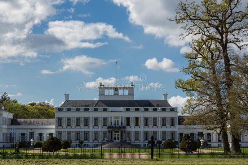Soestdijk дворца в Baarn, Нидерландах стоковые фотографии rf