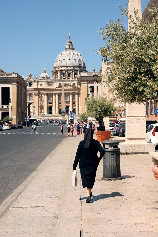 Soeur Vatican Rome Italy photographie stock