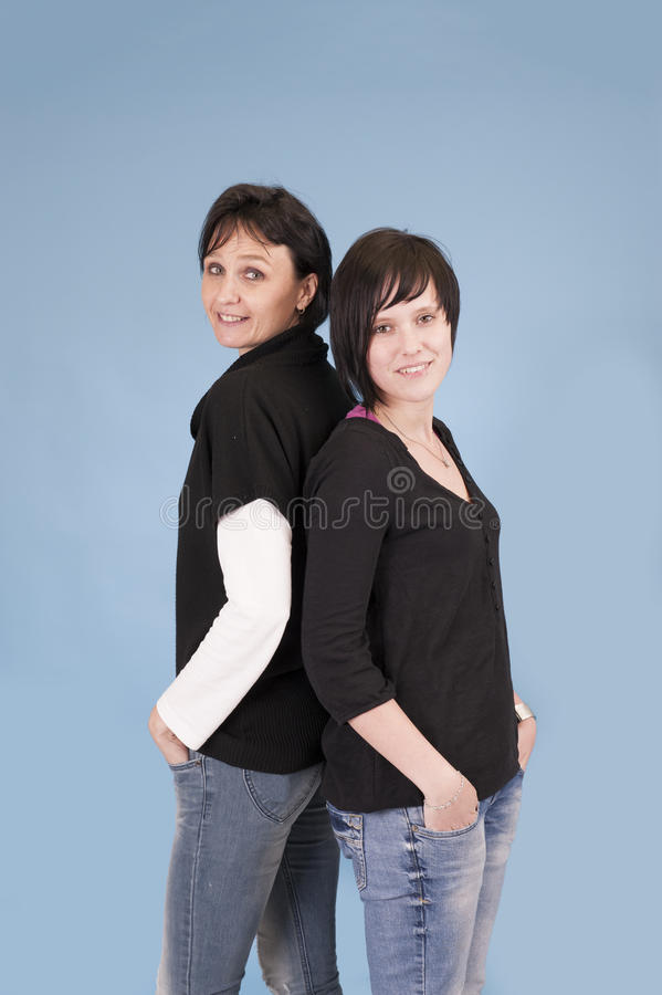 Soeurs adultes photographie stock