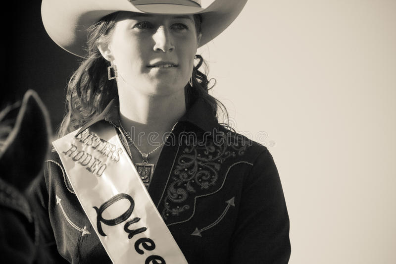 Soeurs, la Reine Emily Clark de rodéo de l'Orégon photos stock