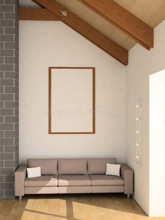 sofà illustrazione di stock