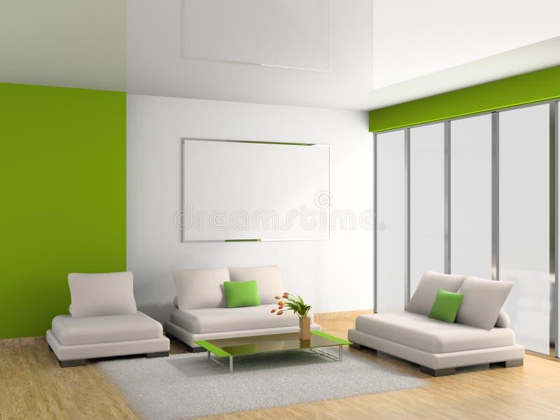 sofà della stanza illustrazione di stock