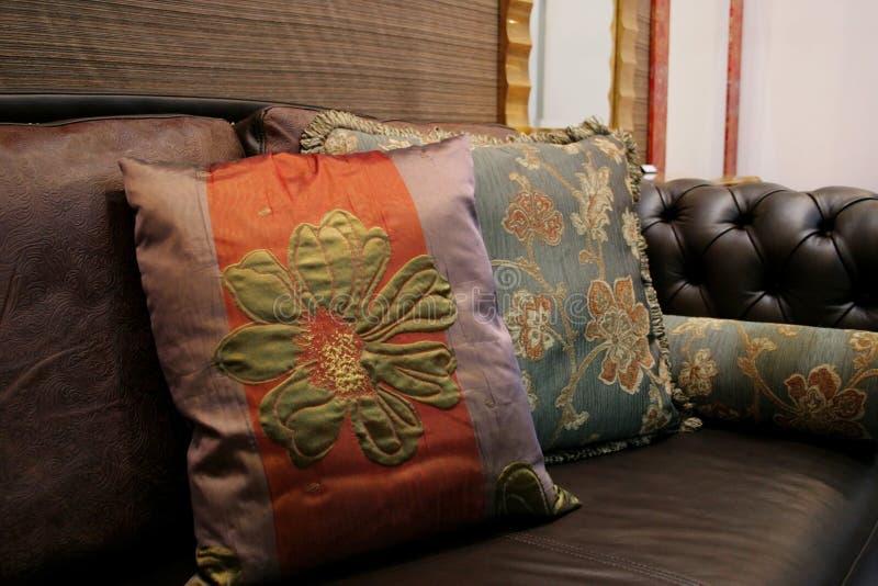 Sofà - interiori domestici fotografia stock