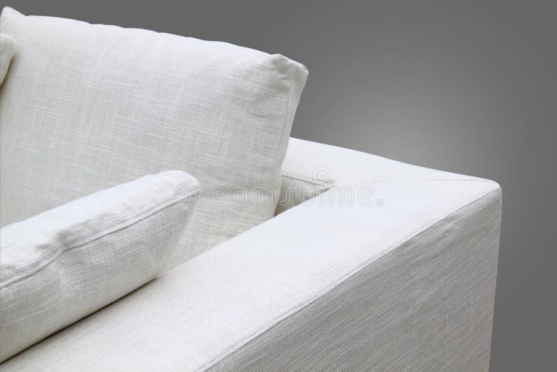 Sofá Blanco Imagen de archivo