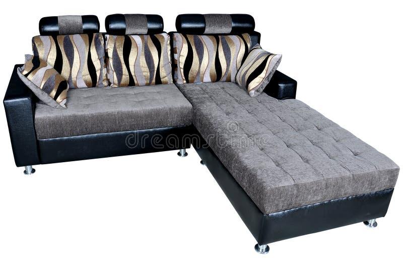 Sofá com a cama imagem de stock royalty free