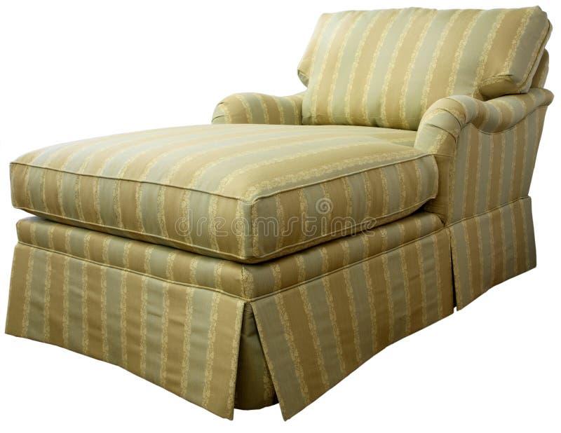Sofá da sala de estar do Chaise imagens de stock