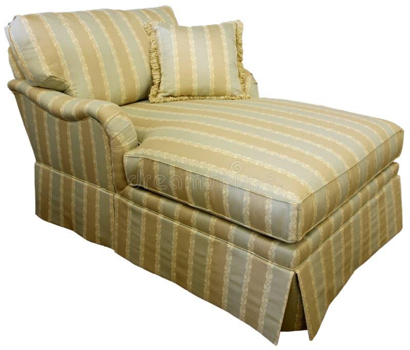 Sofá da sala de estar do Chaise fotos de stock