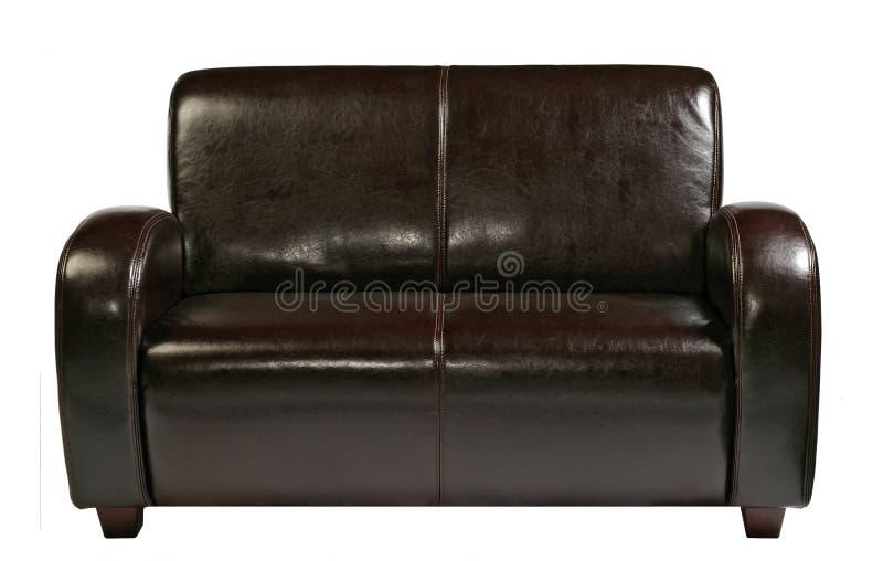 Sofá de couro imagens de stock royalty free