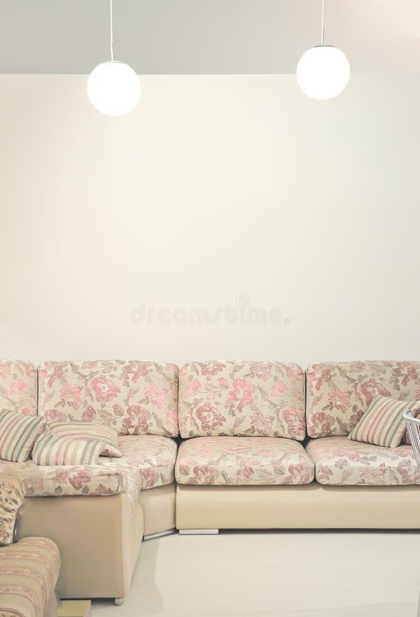 Sofá interior fotos de stock royalty free