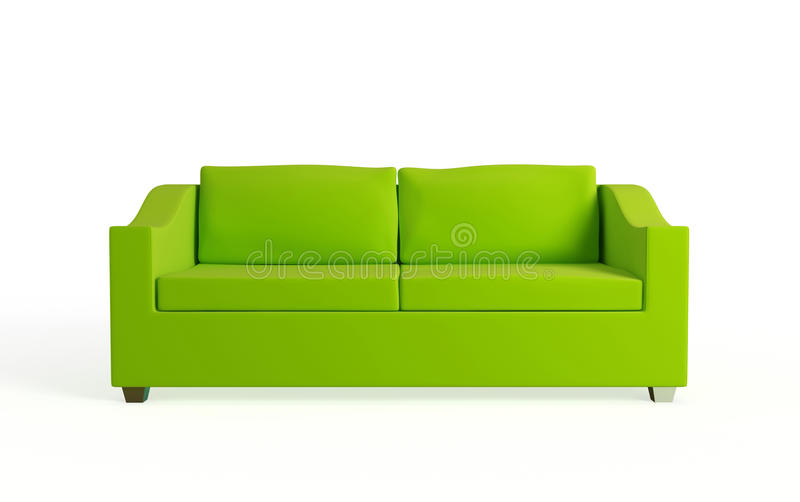 Sofá moderno. ilustração royalty free