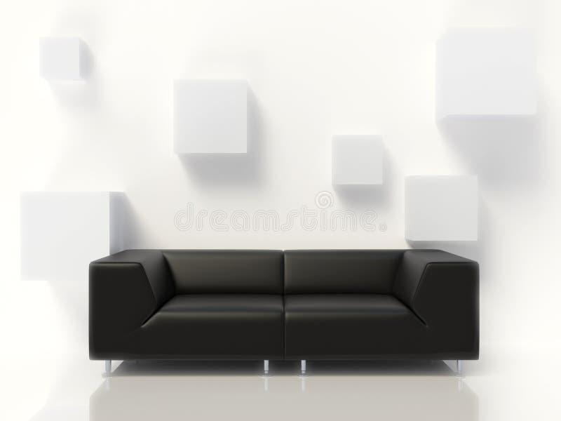 Download Sofa stock illustration. Image of floor, background, reception - 11706670