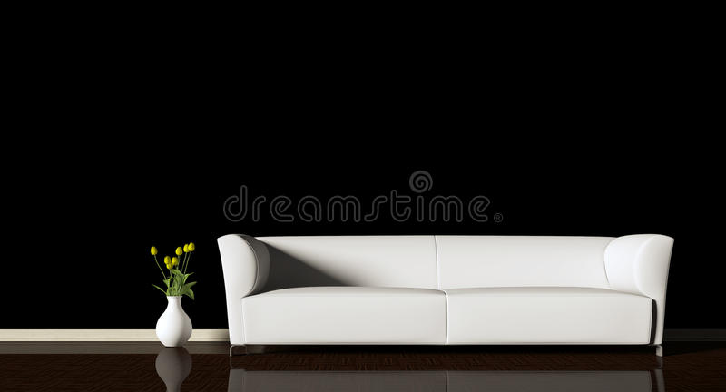 sofa stock illustrationer