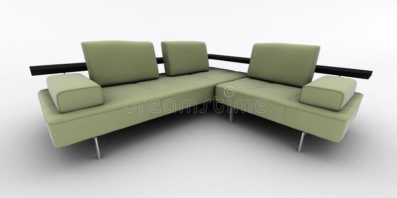 Download Sofa stock illustration. Illustration of interior, comfy - 12305873