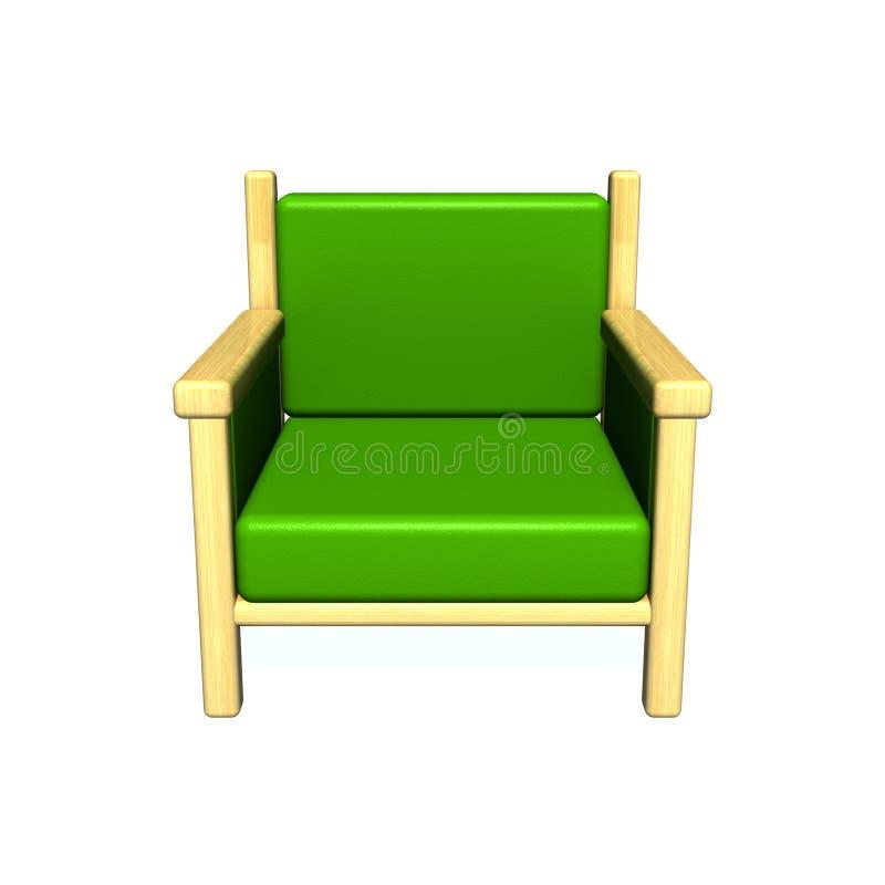 Download Sofa stock illustration. Illustration of wood, wooden - 13215372