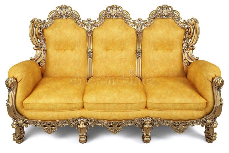 Sofa illustration stock illustration du fa onn for Couch jugendstil