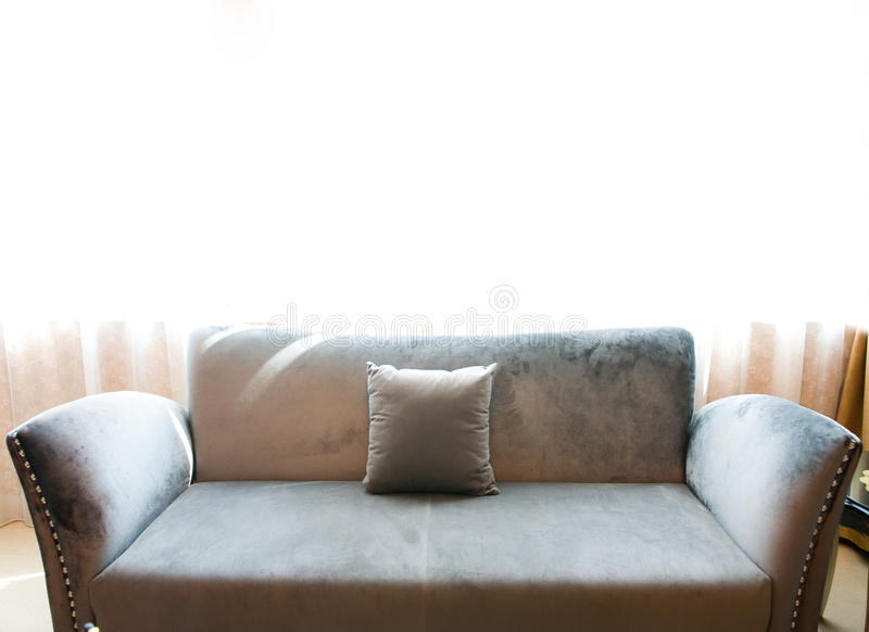 Download Sofa stock image. Image of grey, furniture, detail, equipment - 16775807