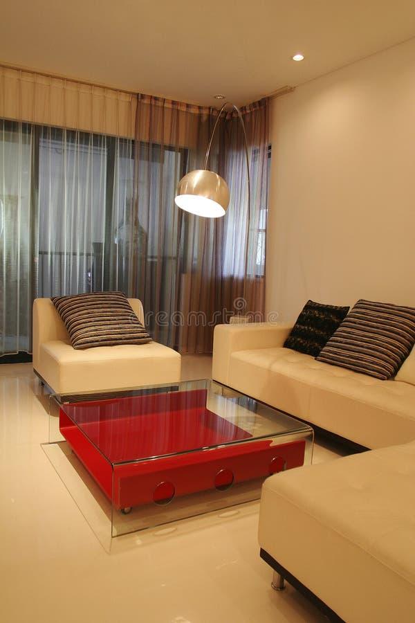 Sofa. Modern sofa in living room royalty free stock image