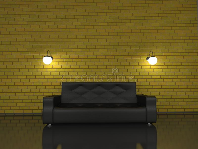 Download Sofa stock illustration. Image of object, illumination - 22040809
