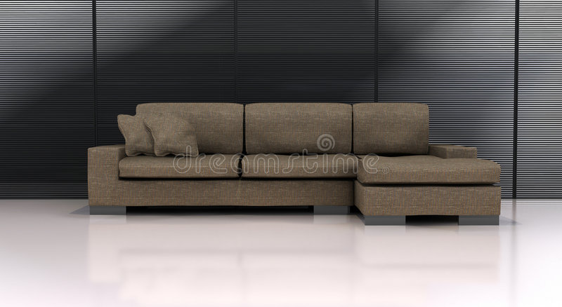Download Sofa stock illustration. Image of computer, indoors, comfortable - 2204416