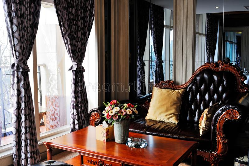 Download Sofa stock photo. Image of home, table, sofa, bottle - 23395520