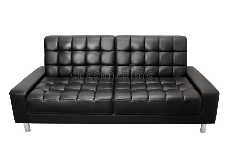 Sofa. On Isolated White Background royalty free stock photography