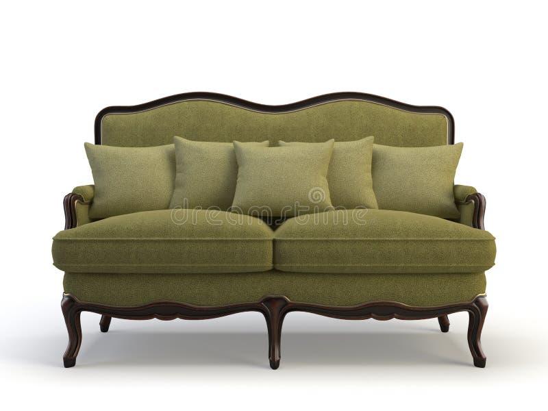 sofa 3d illustration libre de droits