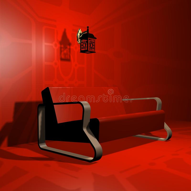Download Sofa. 3d Max Stock Photography - Image: 10236622
