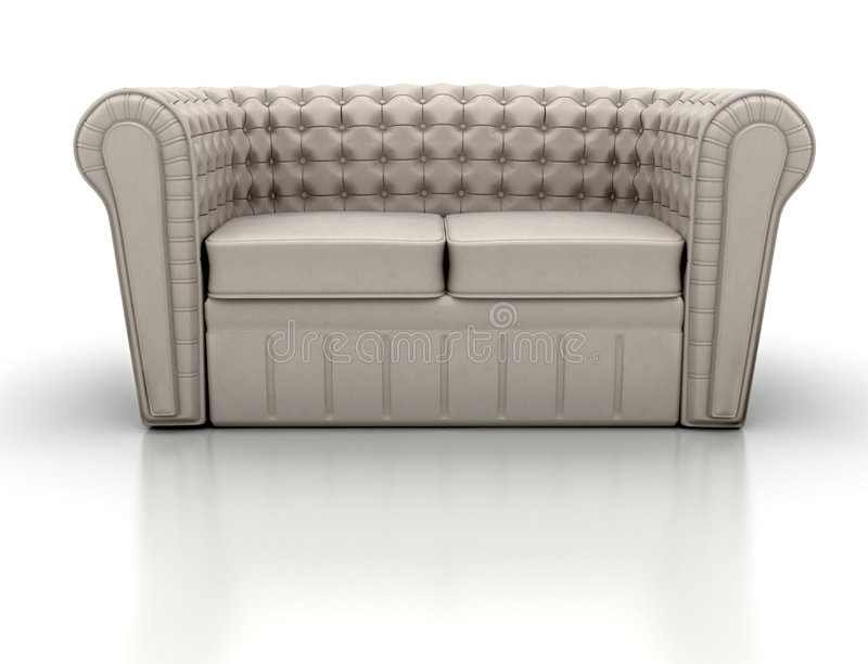sofa illustration de vecteur