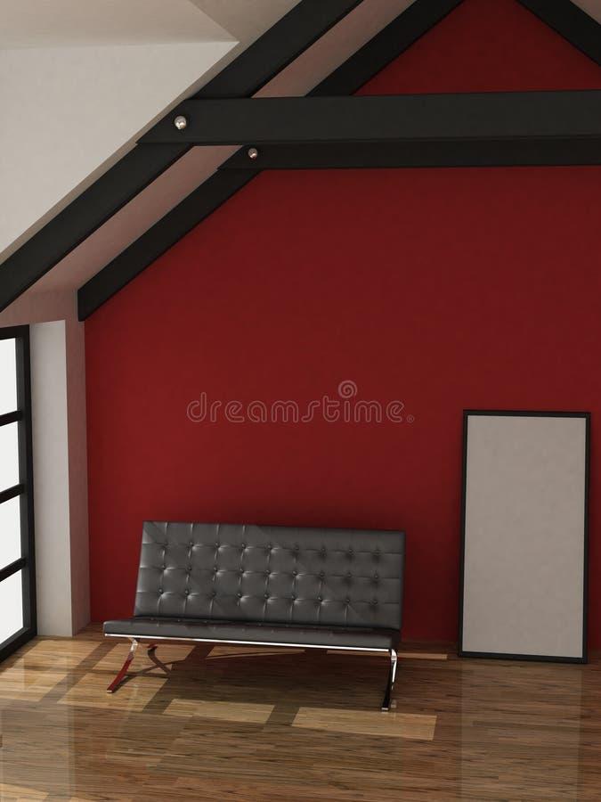 sofa royaltyfria foton