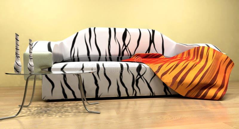 Sofa vektor abbildung