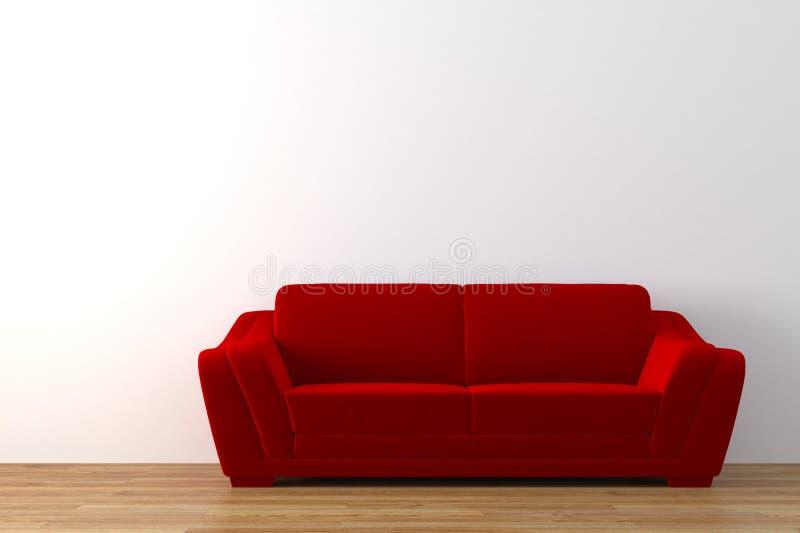 sofa vektor illustrationer