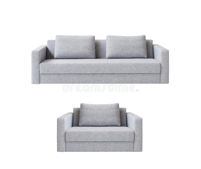 Sofa with armchair stock photo