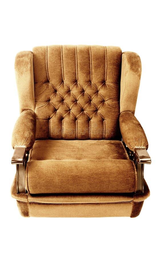 Sofa auf Weiß lizenzfreie stockfotografie