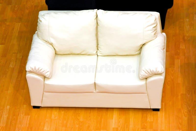 Sofa blanc photos stock
