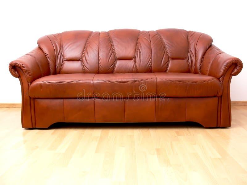 sofa brun image stock