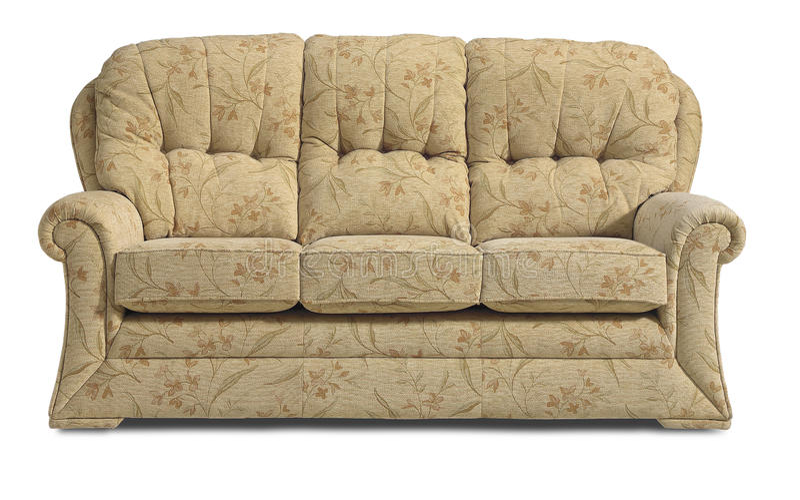 Sofa Chair Settee imágenes de archivo libres de regalías