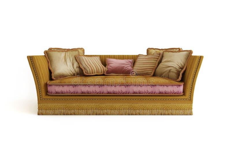 Sofa classique photos stock