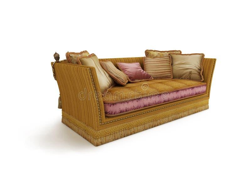 Sofa classique images libres de droits