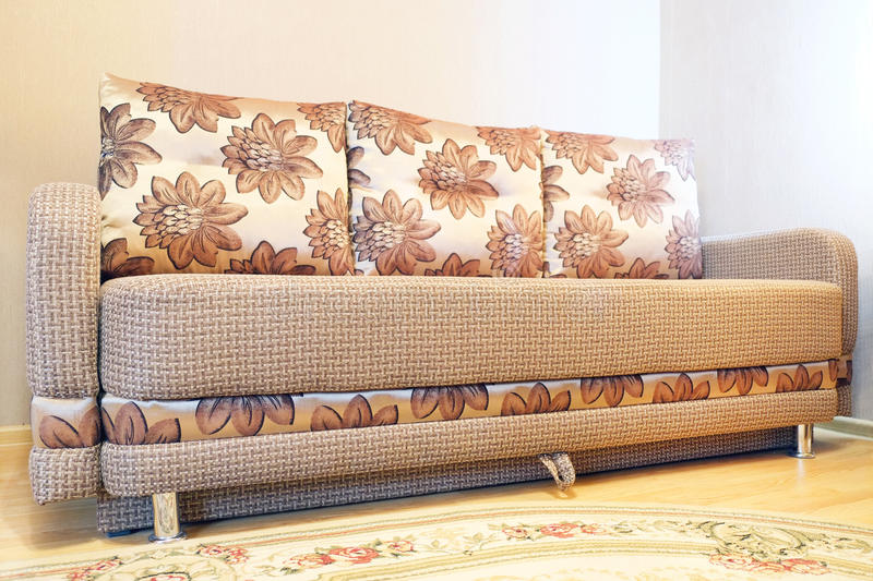 Sofa couch. Image of a Sofa couch stock photo