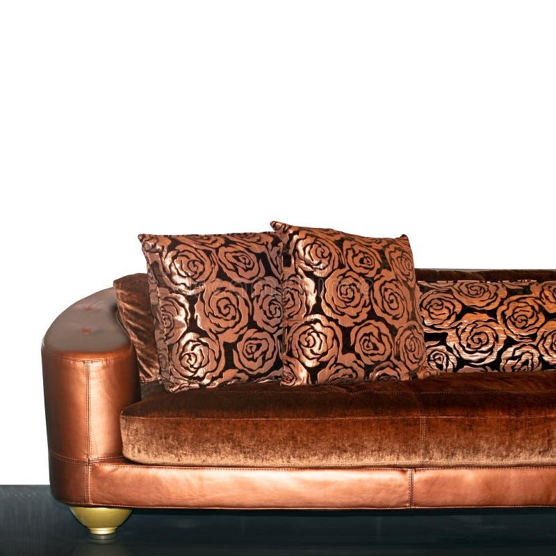 sofa d'or images libres de droits