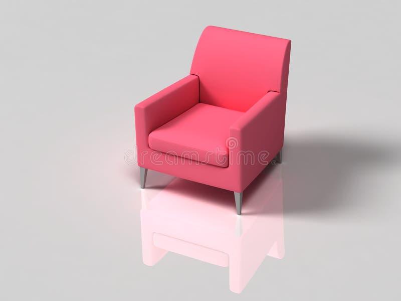 Sofa d'isolement illustration libre de droits