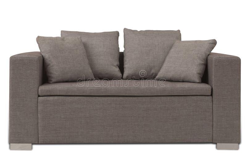 Sofa de Brown image libre de droits