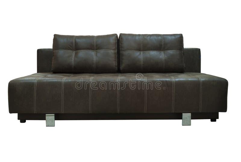 Sofa de Brown photos libres de droits