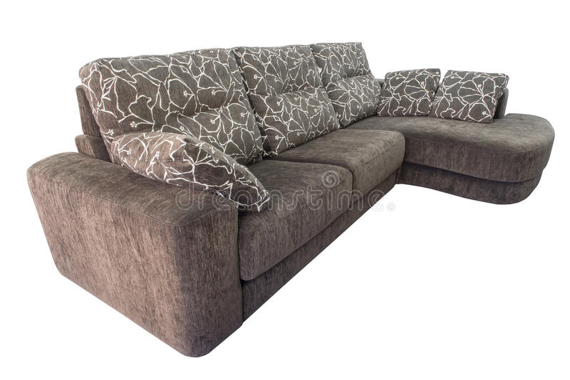 Sofa de Brown images libres de droits